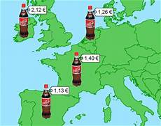 Prix Des Pavés Les Prix En Europe Bouteille De Coca Cola