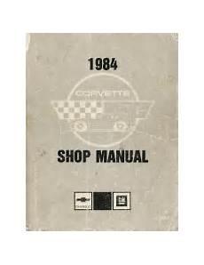 service and repair manuals 1975 chevrolet corvette security system 1984 chevrolet corvette factory service manual