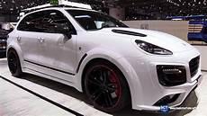 2017 Porsche Cayenne Techart Magnum Sport Exterior