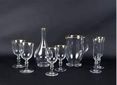 bicchieri di baccarat servizio di bicchieri baccarat 38 pezzi francia xx sec