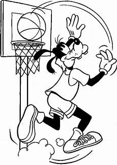 sports coloring pages for toddlers 17712 goofy basketball coloring page татуировки с волком
