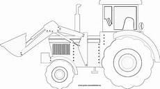 gratis malvorlagen traktor