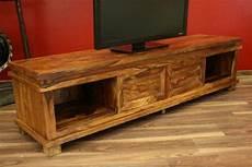 Tv Möbel Holz - sideboard tv hifi 180x45x40 holz massiv bali schrank regal