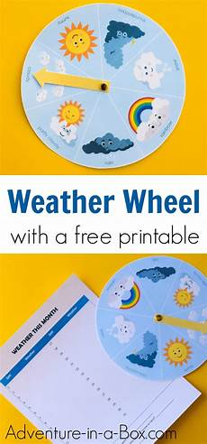 free printable weather wheel for kids adventure in a box