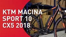 ktm macina sport 10 cx5 2018 trekking e bike