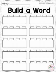 build a sight word plus recording sheet sight words sight word worksheets sight word