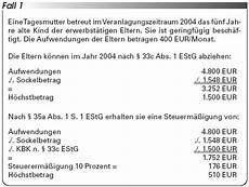 familienf 246 rderung der abzug kinderbetreuungskosten i