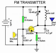 Fm Transmitter Circuit Diagram Schematic by Help Modifying An Fm Transmitter Circuit Electronics Forum