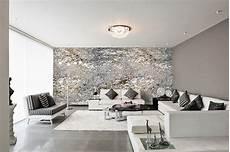 schlafzimmer tapete modern modernes schlafzimmer grau design tapeten in silber grau