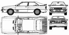 car audi quattro 1981 the photo thumbnail image of figure drawing pictures schematize car