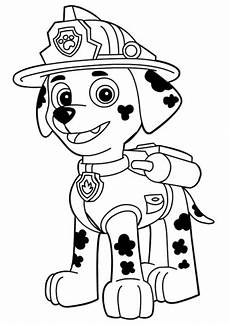paw patrol marshall ausmalbilder coloring pages for