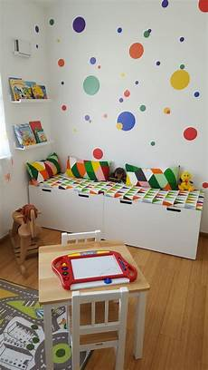 Buntes Kinderzimmer Kinder Leseecke Ikea Kinder