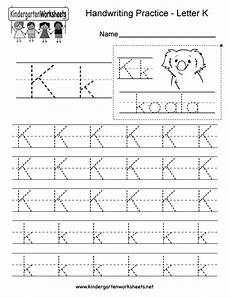 free phonics worksheets letter k 24356 letter k writing practice worksheet this series of handwriting alphabet worksheets can also be