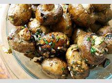 garlic roasted mushrooms recipe