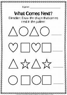 patterns shapes worksheets 241 shapes patterns worksheets by c creations tpt