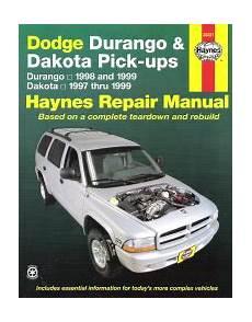online car repair manuals free 1999 dodge dakota club security system 1997 1999 dodge durango and dakota haynes repair manual