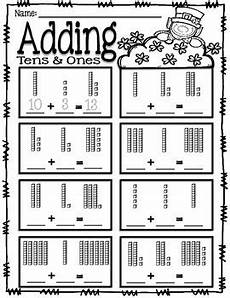 place value addition and subtraction worksheets 5652 adding tens and ones place value addition st s day tpt