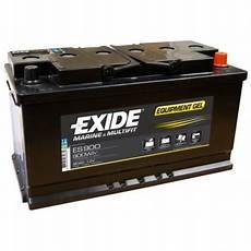 nos batteries gel exide es900 12v 80ah