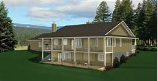 house plans ranch style with walkout basement plan 2011545 a ranch style bungalow plan with a walkout