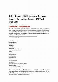 service repair manual free download 2009 honda odyssey free book repair manuals 1981 honda fl250 odyssey service repair workshop manual instant download by kmjfnh njhy issuu