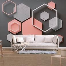 stein tapete wohnzimmer fototapete beton stein rosa tapete modern wandbild xxl
