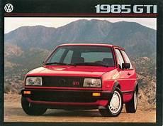 golf 2 gti 1985 usa vw golf ii gti sales brochure by vwgolfmk2oc issuu