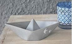 schiffe aus beton schiff ahoi dekorativer beton selbermachen beton und