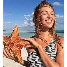 Candice Swanepoel Appeared Fresh And Sun Kissed While In