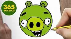simbolos para dibujar faciles como dibujar chancho angry bird emoticonos whatsapp kawaii paso a paso dibujos kawaii f 225 ciles