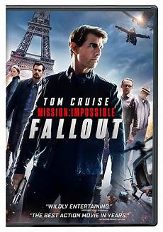 Mission Impossible Fallout Now On Dvd And Bluray