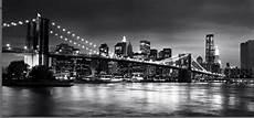 new york bridge panoramic black white canvas wall art 44 20 inch 3506 p musical