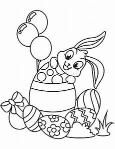 ausmalbilder osterhasen osterhase mit eiern zum ausdrucken