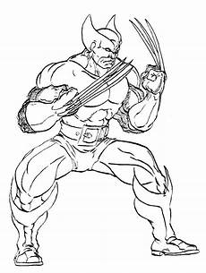 wolverine and the coloring pages