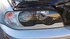 bmw e46 330ci 328ci front xenon headlight removal