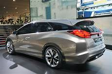 honda civic tourer honda civic tourer concept shows the shape of european