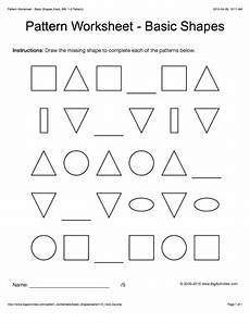 shape patterns worksheets for grade 2 386 pattern worksheets for black white basic shapes 1 2 pattern draw and colo pattern