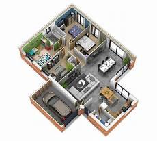 plan d intérieur de maison natisoon toit terrasse plan maison ossature bois plan