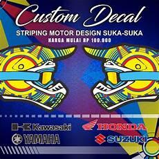 Variasi Motor Supra X 125 by Jual Striping Decal Variasi Supra X 125 R 2007 2013 Semi