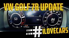 golf r 0 100 2017 vw golf 7 r 310ps update 0 100 km h 0 60 acceleration