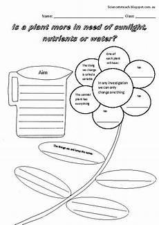 science plants worksheets for kindergarten 13582 scientific investigation worksheets the needs of a plant