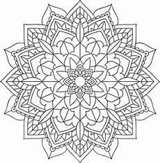 Floral Flower Mandala Free Vector Graphic On Pixabay