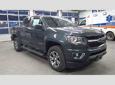 2017 CHEVROLET COLORADO CREW CAB SHORT BOX 4WD Z71
