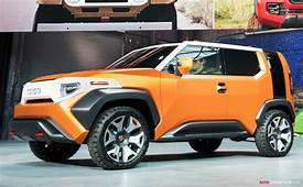 Designed For Millennials Toyota's FT 4X Concept Is A