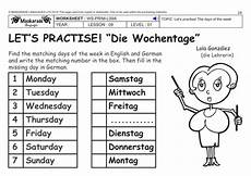 german series worksheets 19720 german ks2 level 2 days of the week weather forecast for the week by maskaradelanguages uk