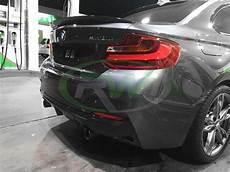 bmw f22 f23 exotics tuning style carbon fiber diffuser