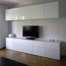 Ikea Besta Wohnzimmer - ikea besta cabinets with high gloss doors in living room