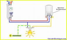 branchement detecteur de mouvement 5825 branchement detecteur de mouvement avec interrupteur circuit electrique schema branchement cablage