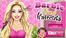 barbie real haircuts il gioco