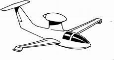 Lustige Ausmalbilder Flugzeuge Flugzeug Mit Einzelner Duese Ausmalbild Malvorlage Die
