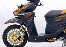 Modif Simple Vario 150 by Modifikasi Honda Vario 150 Esp Simple Sticker Desain Honda